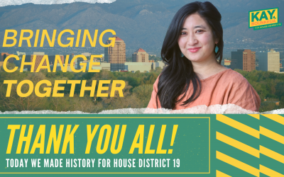 Longtime community leader, Kay Bounkeua, gets appointed to represented House District 19 at the New Mexico Legislature